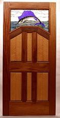 The Prairie I Entry Door & Fine Wood Doors by Mendocino Custom Doors ~ Exterior and Interior